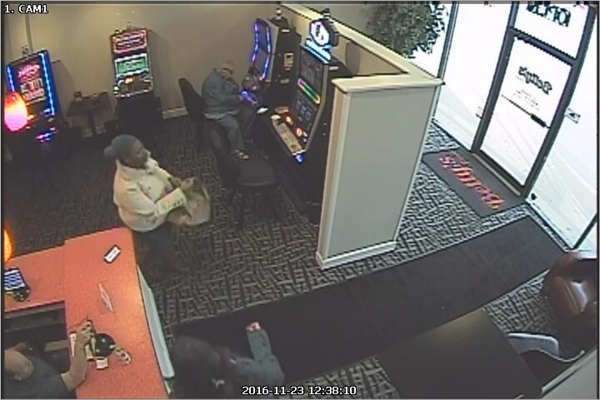 Betty's Place Video Gaming Parlor Strong Armed Robbery