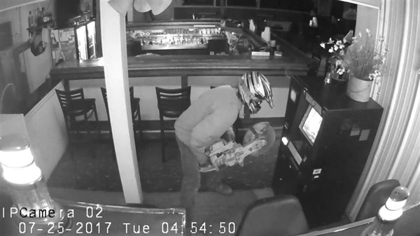Burglary at MaMa Lee's Sandbar