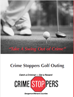 Take A Swing Out of Crime Golf Outing