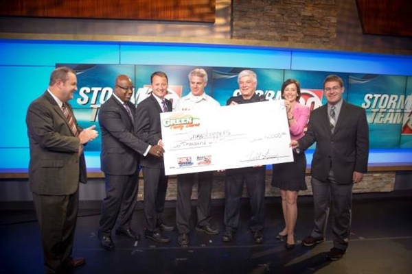 CrimeStoppers presented with 3 degree guarantee charity donation